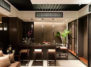 ,185平,25万,新古典,三居,餐厅,黑白,