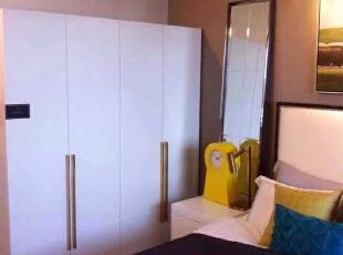 ,100平,15万,混搭,三居,卧室,白色,