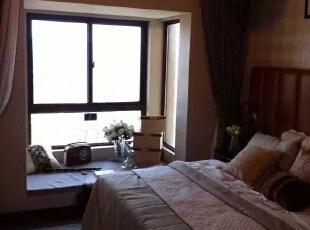 ,100平,15万,混搭,三居,卧室,原木色,白色,