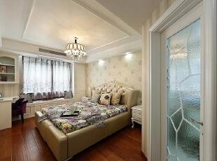 ,173平,26万,欧式,三居,卧室,白色,