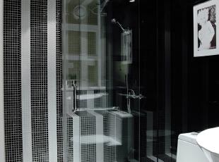 设 计 风 华、装 点 都 市。,165平,25万,现代,三居,卫生间,黑白,