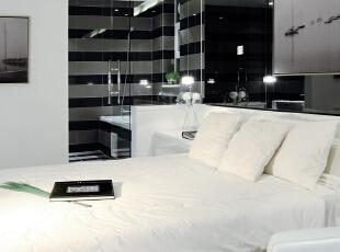 设 计 风 华、装 点 都 市。,165平,25万,现代,三居,卧室,黑白,