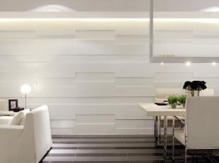 设 计 风 华、装 点 都 市。,165平,25万,现代,三居,客厅,白色,