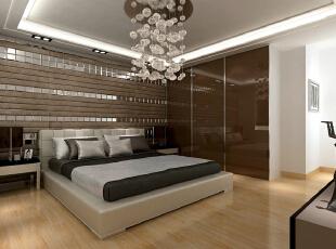 京铁家园150平极简北欧风-卧室 贝壳马赛克等材质,凸显空间的实用与华丽,不失典雅与品位的特质。,132平,9万,简约,三居,卧室,现代,白色,黑白,