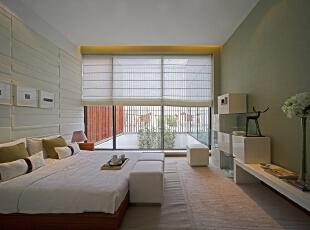 ,490平,130万,中式,别墅,卧室,绿色,白色,