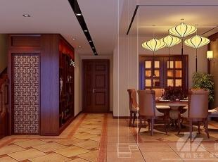 ,500平,40万,现代,别墅,餐厅,楼梯,过道,原木色,