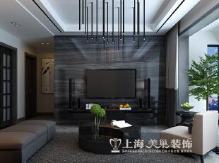 郑州亚太明珠125平三室两厅港式风格装修效果图--电视墙,125平,15万,小资,三居,
