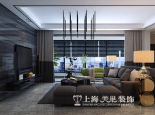亚太明珠125平三室两厅港式风格装修效果图--客厅,125平,15万,小资,三居,