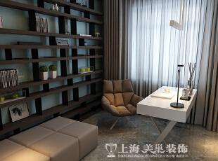 亚太明珠125平三室两厅港式风格装修效果图--书房,125平,15万,小资,三居,