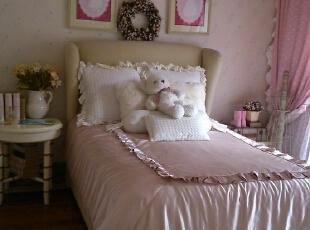 女孩房,351平,65万,美式,别墅,田园,宜家,简约,白色,粉色,
