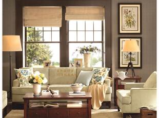 在每一个家庭中,客厅是最直接面对客人的地方,是展现家居风格的最好窗口,哪怕是随手搁置的一个物件,也能烘托出一种高雅的生活姿态……,351平,65万,美式,别墅,客厅,小资,田园,
