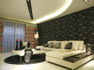 设 计 风 华、装 点 都 市。,100平,10万,现代,两居,客厅,简约,