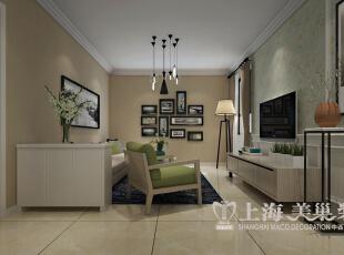 郑州升龙城装修案例展示两室两厅89平居室装修效果图——客厅装修效果图,89平,6万,现代,两居,客厅,
