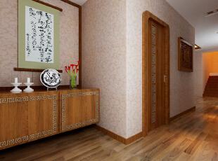 中式装修的风格不仅能够使您的屋子体现中式的传统美,而且还能够修身养心。不过说到中式的装修风格,这里边也是有很多讲究了,对于中国的传统文化得需要有足够多的了解,在中式装修风格的屋子之中摆放的如屏风、古玩之类的事物应该按照总体布局对称均衡 中式风格的代表是中国明清古典传统家具及中式园林建筑、色彩的设计造型。特点是对称、简约、朴素、格调雅致、文化内涵丰富,中式风格家居体现主人的较高审美情趣与社会地位。,121平,8万,中式,三居,玄关,