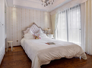 ,183平,30万,新古典,三居,卧室,
