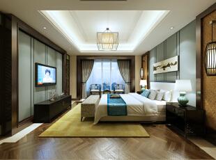 客房,中式与美式的融合,300平,150万,混搭,别墅,