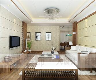 御龙湾-三居室-现代风格