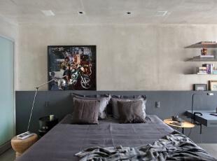 ,161平,15万,现代,三居,卧室,黑白,