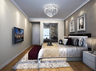 ,卧室,简约,白色,床,背景墙,