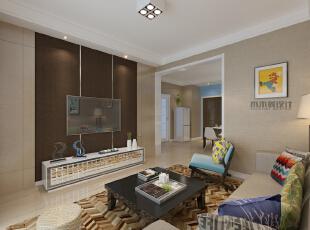 ,88平,9万,现代,两居,客厅,小资,黄色,简约,