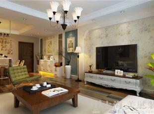 九龙城三室两厅现代简约装修案例效果图-客厅电视背景墙,120平,8万,现代,三居,客厅,