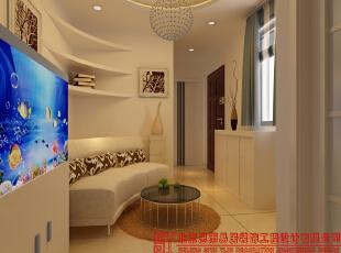 客厅,65平,现代,一居,客厅,