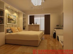 卧室,65平,现代,一居,卧室,