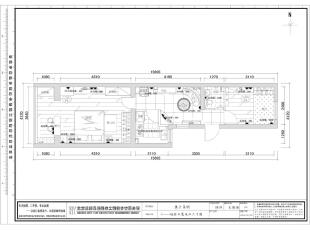 插座布置定位图,65平,现代,一居,