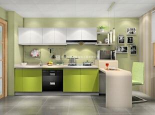 100款漂亮实用的厨房装修案例赏析(1),20平,1万,现代,两居,厨房,