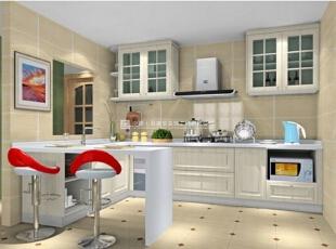 100款漂亮实用的厨房装修案例赏析(2),20平,1万,现代,两居,厨房,