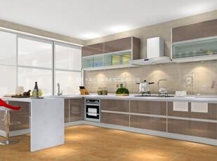 100款漂亮实用的厨房装修案例赏析(4),20平,1万,现代,两居,厨房,