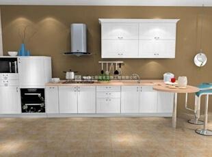 100款漂亮实用的厨房装修案例赏析(5),20平,1万,现代,两居,厨房,