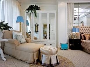 美式乡村_别墅装修,700平,70万,美式,别墅,卧室,