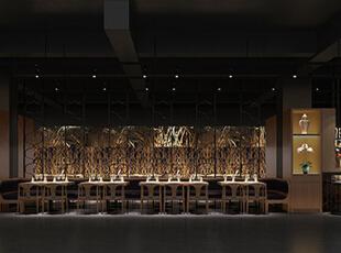 餐厅角度六,500平,50万,简约,公装,
