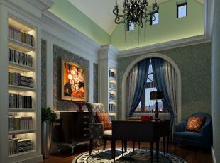 书房,200平,35万,美式,四居,