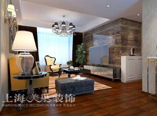中力七里湾装修案例两室两厅70平方现代简约风格效果图——客厅电视背景墙,石材的影视墙,空间立显高贵。,70平,7万,现代,两居,