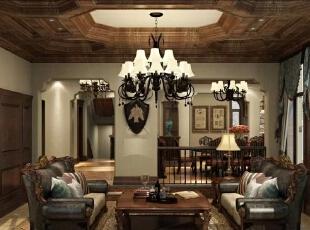 业主年轻时尚,传统的美式乡村风格虽然能打造一个自然化的居住环境,但还是缺少一些时尚的气质。通过与业主的多次沟通,为了营造一个既自然化又时尚的家居室内,除了在空间结构上作调整,又在灯光材质等方面赋予了室内时尚的气质,打造了一个既乡村又时尚的自然化居住环境。,500平,230万,现代,一居,
