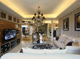 设 计 风 华、装 点 都 市。,220平,25万,欧式,三居,客厅,小资,