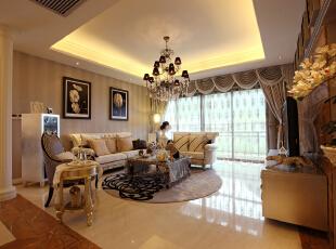 设 计 风 华、装 点 都 市。,220平,25万,欧式,三居,小资,客厅,
