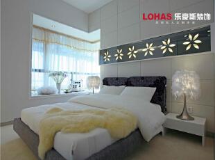 卧室,130平,11万,现代,三居,石家庄海棠湾装修,卧室,