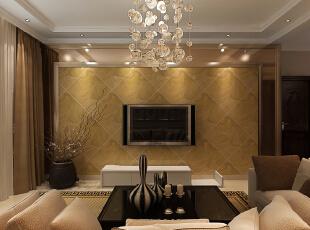 客厅解决入户穿堂问题,利用屏风或者根据整体风格做出相应的玄关沙发选取L型拐角沙发,使整个区域充分的利用。,98平,3万,现代,两居,