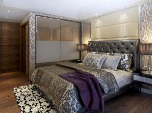 卧室是休息的地方,需要一个安静的环境,因此功能越单一,居住就越舒适。本案的设计充满浪漫的情调,浪漫是什么,好似埃菲尔铁塔下的深情相拥,是普罗旺斯薰衣草间的甜蜜相守,把这种浪漫装进自家的卧室中,享受那份悠闲和自在,感受这份闲适和温馨。,178平,22万,欧式,三居,卧室,