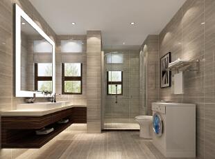 温馨之家——卫生间,140平,7万,现代,三居,卫生间,