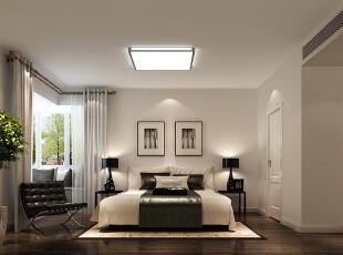 温馨之家——卧室,140平,7万,现代,三居,卧室,