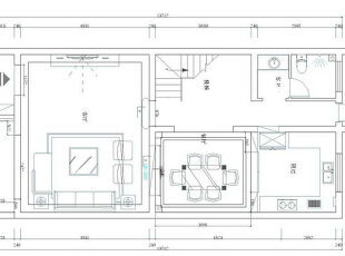 郑州林溪湾别墅260平方简欧风格——装修户型图,260平,20万,欧式,别墅,