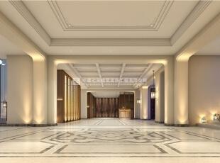 河南中牟长基燕月湾售楼部装修设计效果图,3000平,50万,欧式,公装,客厅,