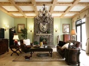就整体而言,美式家具传达了单纯、休闲、有组织、多功能的设计思想,让家庭成为释放压力和解放心灵的净土。美式家具的最迷人之处还在于造型、纹路、雕饰和色调细腻高贵,耐人寻味处透露亘古而久远的芬芳。,300平,60万,现代,一居,