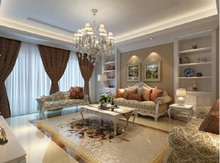 本方案围绕欧式风格为主题,追求形体的变化和层次感。室内外色彩鲜艳,光影变化丰富。在经济、实用、舒适的同时,体现一定的文化品味。在总体布局方面尽量满足业主生活的需求,通过完美的典线,精益求精的细节处理,华丽、高雅。典雅中透着高贵,深沉里显露豪华,具有很强的文化感受和历史内涵。,180平,150000万,欧式,小户型,