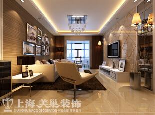 正商明钻130平方三室两厅现代简约风格装修案例-客厅装修效果图,130平,8万,现代,三居,客厅,