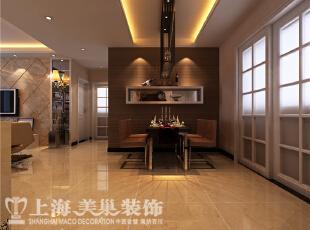 郑州正商明钻130平现代简约风格装修方案-餐厅装修效果图,130平,8万,现代,三居,餐厅,